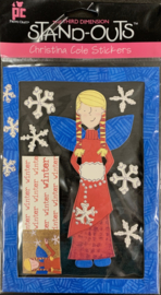 Christina Cole Stickers Winter Fairy - Provo Craft