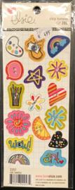 Zoe Chip Buttons Shapes Elsie KI Memories