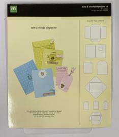 Card & Envelope Template Kit - Making Memories