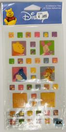 Winnie the Pooh Silly Epoxy Stickers - EK Succes