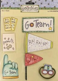 Go Team by Sue Dreamer - Colorbok