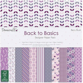 Berry Blush - Back to Basics Collection Dovecraft