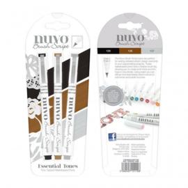 Nuvo Brush Script Essential Tones - Tonic Studios