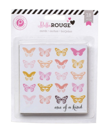 Bella Rouge Cards Pink Paislee