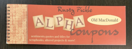 Alpha Coupons Old MacDonald - Rusty Pickle