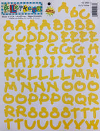Kid's Yellow Letters - Provo Craft