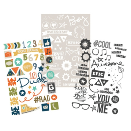 Sticker Sheets - So Rad Collection