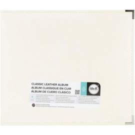 """Classic Faux Leather 12""""x12"""" Vanilla Album - We R Memory Keepers"""