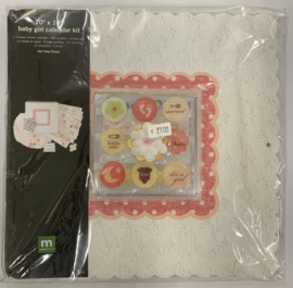 Baby Girl Calendar Kit 10x10 - Making Memories