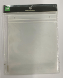 Sheet Protectors Post bound 6x6 - Making Memories