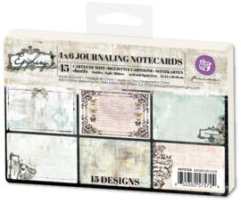 Epiphany Journaling notecards 4x6 Prima