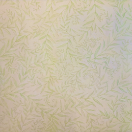 Green Vine Tim Coffey Embossed Vellum - K & Company