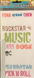 Rockstar Rub-ons - DCWV