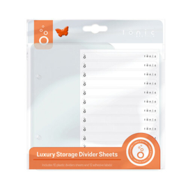 Luxury Storage Divider Sheets - Tonic Studios