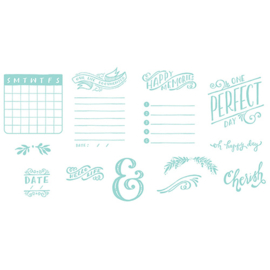 Letterpress Plates Journaling