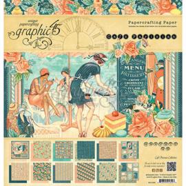 Cafe Parisian Paperpad 12x12 Graphic 45