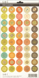 Mini Coasters Dill Blossom S.E.I.