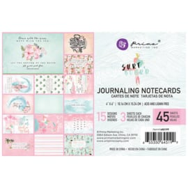 Surf Board Journaling Notecards 4x6 - Prima Marketing