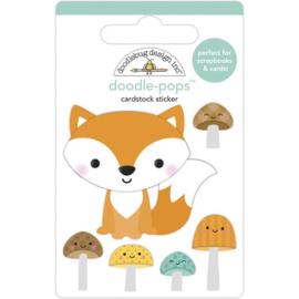 Doodle-Pops Fox & Friends - Doodlebug