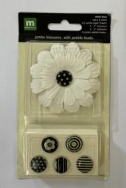 White Daisy Black& White - Making Memories