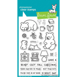 Den Sweet Den Clear Stamps - Lawn Fawn
