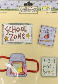 School Zone by Sue Dreamer - Colorbok