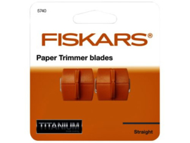 Paper Trimmer Blades Straight - Fiskars