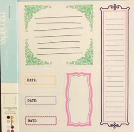 Remarks Journaling Book 1 Color set 2&4