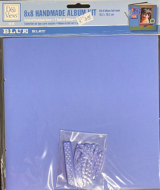 8x8 Handmade Album Kit Blue - Deja Views