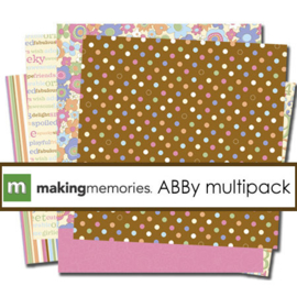 Embellishment Cheeky Paper - Abby Collection -Making Memories