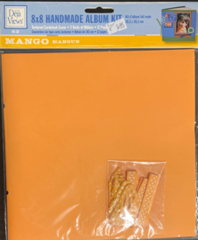 8x8 Handmade Album Kit Mango - Deja Views