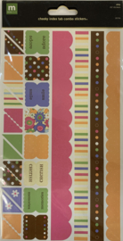 Abby Cheeky Index Tab Combo Stickers - Making Memories
