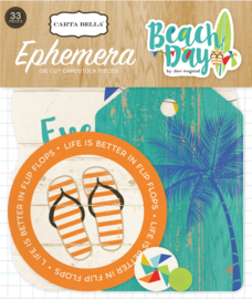 Beach Day Ephemera Carta Bella