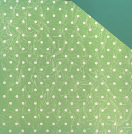Green Icing Dots - Around the Block