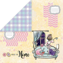 Stay at Home 3 12x12 - Craft & You Design