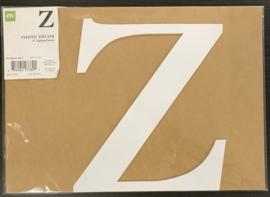 """Z Chipboard Letters 8"""" - Making Memories"""