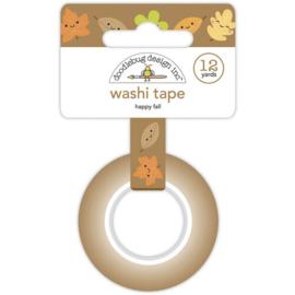 Happy Fall Washi Tape - Doodlebug