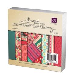 Rosarian Paper Pad 6x6 Prima