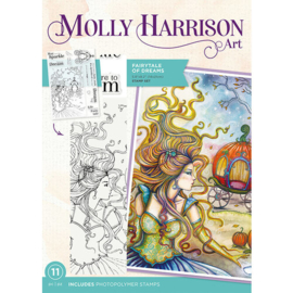 Fairytale of Dreams - Crafter's Companion Molly Harrison Art