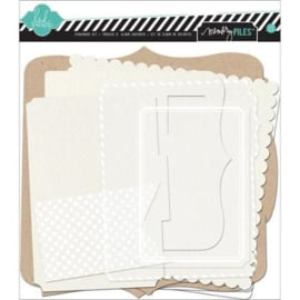 Memory Files Scrapbook Kit Canvas Heidi Swapp