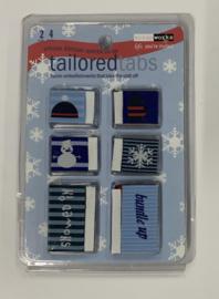 Tailored Tabs Winter - ScrapWorks