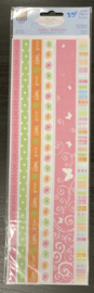 Delightful Playful Fabric Borders - Little Yellow Bicycle