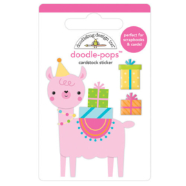Doodle-Pops Party Llama - Doodlebug