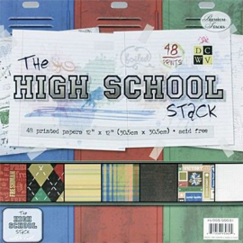 The High School Stack with Foil - DCWV