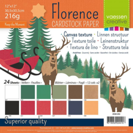 Cardstock Multipack Christmas 12x12 - Florence