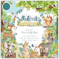 Bluebells and Buttercups 6x6 Paper Pad - Craft Consortium