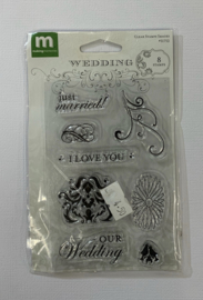 Images Wedding Clear Stamps - Making Memories