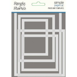 Photo Mat Templates Simple Pages - Simple Stories