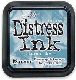 Distress Ink Stormy Sky Tim Holtz