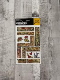 Marah Johnson Love Epoxy Stickers - Creative Imaginations